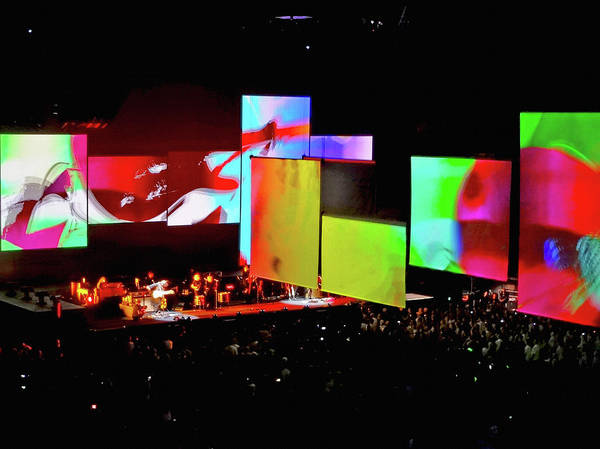 Photograph - Roger Waters Tour 2017 - Another Brick In The Wall IIi by Tanya Filichkin