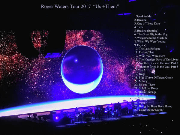 Photograph - Roger Waters Tour 2017 Show In Portland Or by Tanya Filichkin