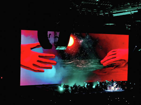 Photograph - Roger Waters Tour 2017 - Wish You Were Here I by Tanya Filichkin