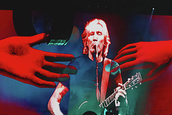 Photograph - Roger Waters Tour 2017 - Wish You Were Here II by Tanya Filichkin