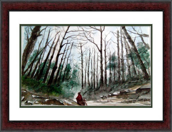 Bangladesh Painting - Roghunondon Deep Forest,bangladesh by Uzzal Hasan