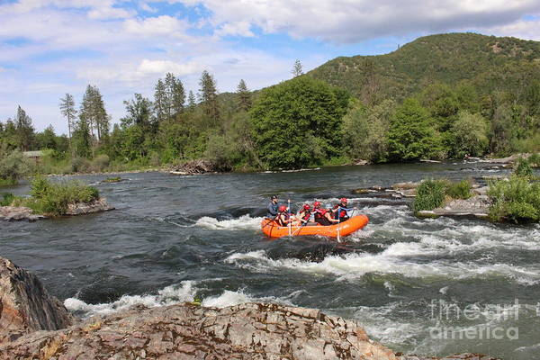 Photograph - Rogue River Fun by Marie Neder