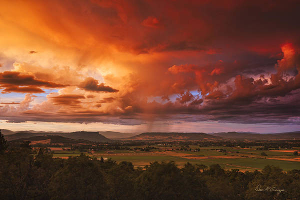 Photograph - Rogue Valley Sunset by Dan McGeorge