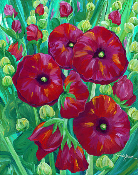 Painting - Roja by Linda Rauch