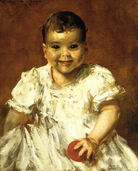 Painting - Roland by William Merritt Chase