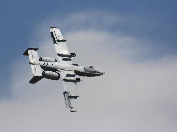 Photograph - Roll Over Wafb 09 A10 Thunderbolt 2 by David Dunham
