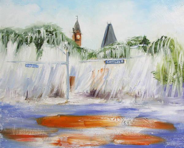 Toomer Wall Art - Painting - Roll Toomer's by Jill Holt