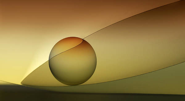 Bowl Photograph - Rolled by Jutta Kerber