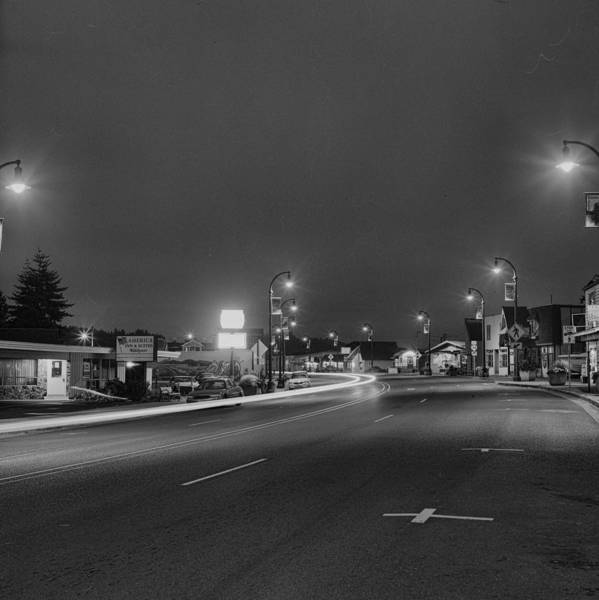 Photograph - Rolled Up Streets by HW Kateley