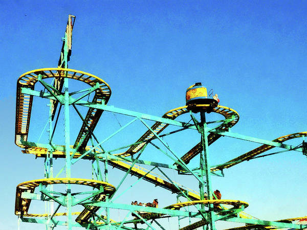 Photograph - Roller Coaster by Susan Savad