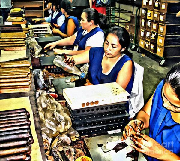 Photograph - Rolling Cigars In Honduras by Beauty For God