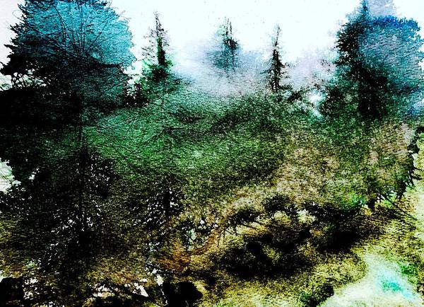 Wall Art - Painting - Rolling Fog by Julia S Powell