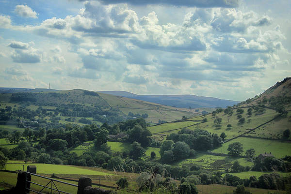 English Countryside Photograph - Rolling Hills by Martin Newman