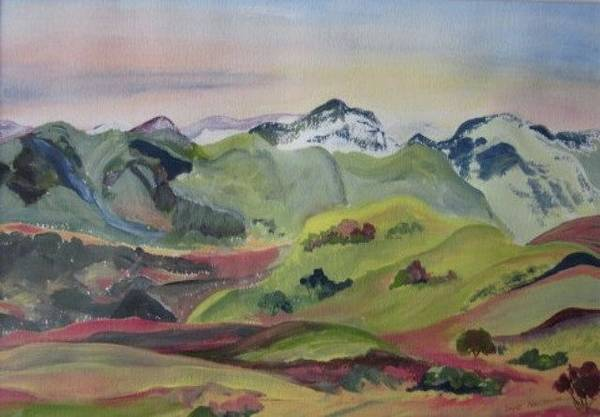 Painting - Rolling Hills by Sue Nelson