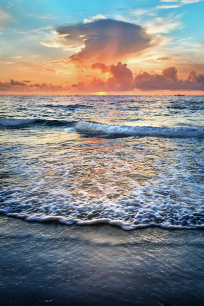Photograph - Rolling Into Sunrise by Debra and Dave Vanderlaan
