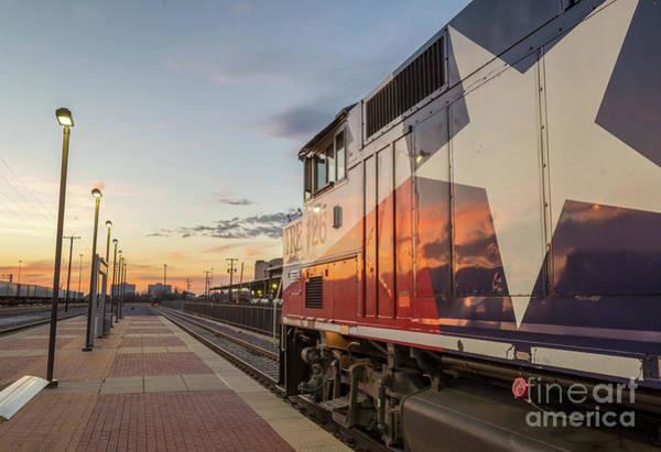 Wall Art - Photograph - Rolling Into The Sunset by Paul Quinn