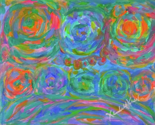 Painting - Rolling by Kendall Kessler