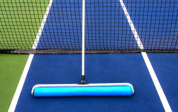 Photograph - Rolling On The Tennis Court by Gary Slawsky