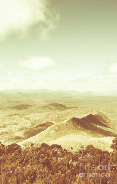 Pastures Photograph - Rolling Rural Hills Of Zeehan by Jorgo Photography - Wall Art Gallery