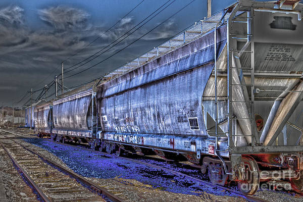 Photograph - Rolling Stock by William Norton