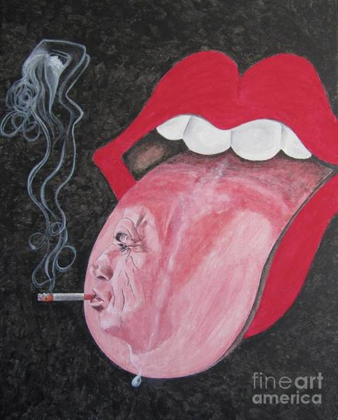 Acdc Painting - Rolling Stones by Jeepee Aero