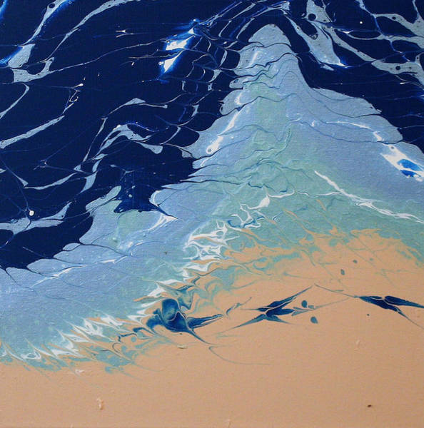 Painting - Rolling Tides by Vicki Winchester