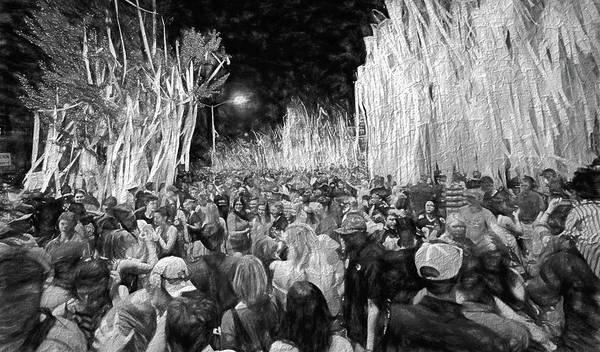 War Eagle Photograph - Rolling Toomer's Black And White by JC Findley