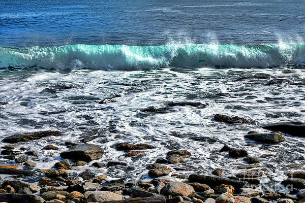 Photograph - Rolling Wave On The Coast Of Maine by Olivier Le Queinec