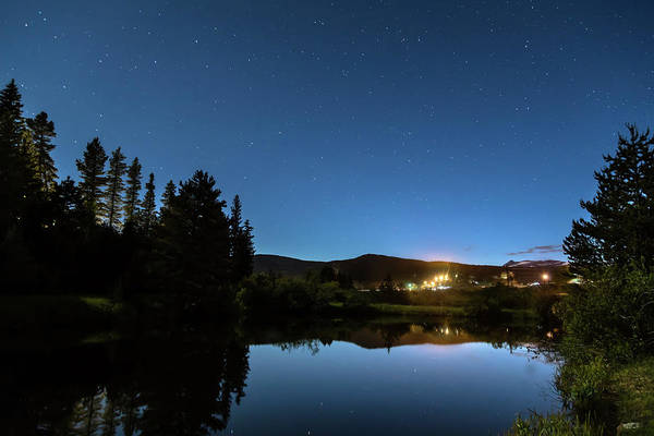Photograph - Rollinsville Colorado Starlight View by James BO Insogna
