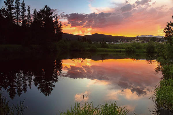 Photograph - Rollinsville Sunset Reflections by James BO Insogna