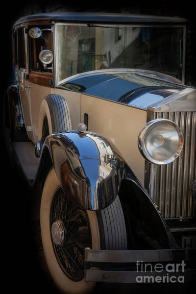 Photograph - Rolls-royce Close-up by Heiko Koehrer-Wagner