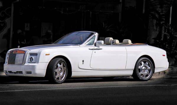 Photograph - Rolls Royce Phantom Drophead Coupe by Gene Parks