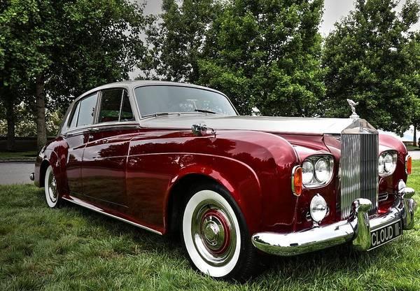 Photograph - Rolls Royce Silver Cloud IIi  by Carol Montoya