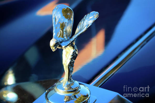 Rolls Royce Hood Ornament Photograph - Rolls Royce - The Spirit Of Ecstasy  by Colleen Kammerer