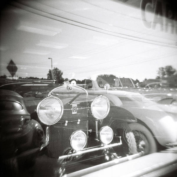 Photograph - Rolls Roye Reflection by Jeff Folger