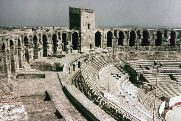 Photograph - Roman Amphitheatre, Arles by Granger