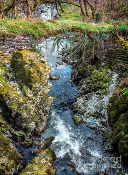 Coed Photograph - Roman Bridge by Adrian Evans