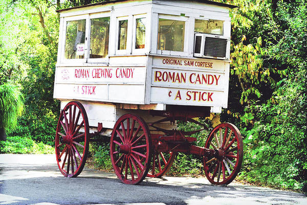 Louisiana Photograph - Roman Candy by Scott Pellegrin