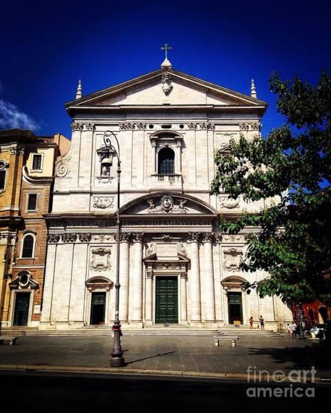 Photograph - Roman Church by Angela Rath