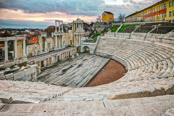 Roman Coliseum Plovdiv Art Print