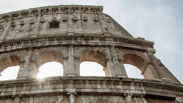 Photograph - Roman Colosseum Beam Of Light  by John McGraw