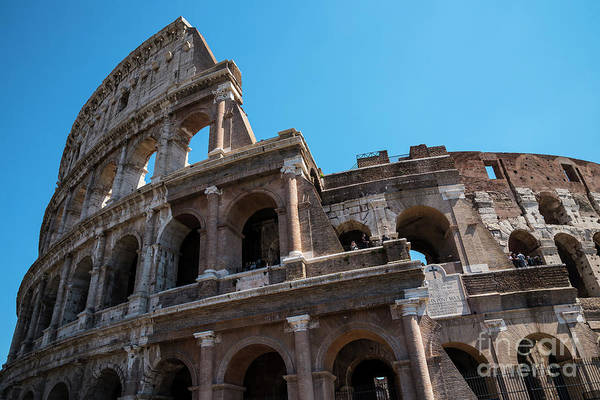 Photograph - The Colosseum Of Rome by Brenda Kean