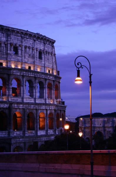 Wall Art - Photograph - Roman Colosseum by John Warren
