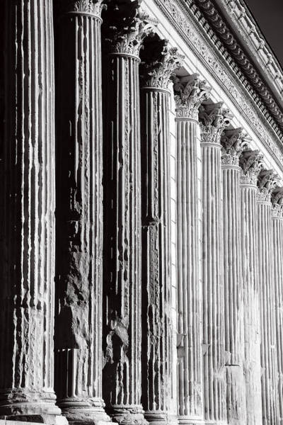 Photograph - Roman Columns 1b by Andrew Fare