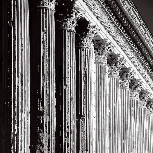 Photograph - Roman Columns 2b by Andrew Fare
