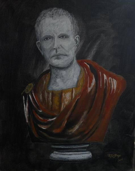 Pastel - Roman Emperor 2 by Richard Le Page