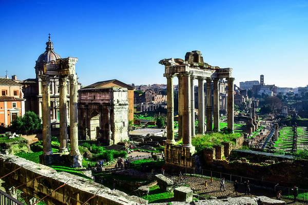 Photograph - Roman Forum by Alessandro Della Pietra