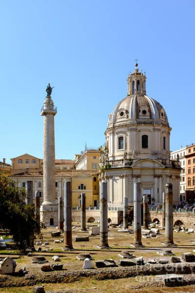 Photograph - Roman Forum by Edward Fielding