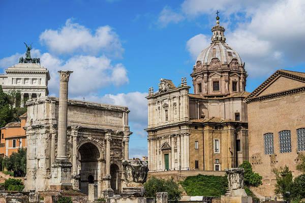 Photograph - Roman Forum by James Billings