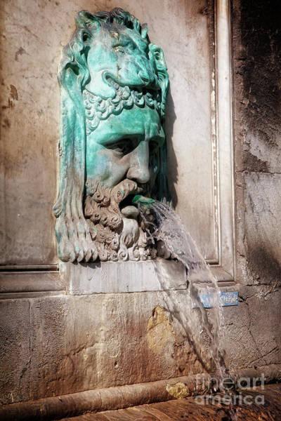Photograph - Roman Fountain by Scott Kemper